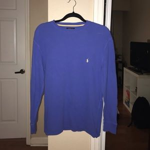 Polo Ralph Lauren blue long sleeve